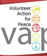 VAP Logo: Volunteer Action for Peace